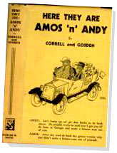 Amos n Andy book
