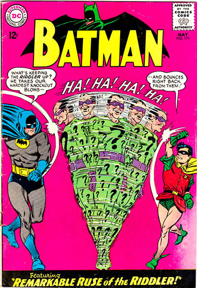 Infantino & Murphy Anderson DC Batman Comic Book Cover