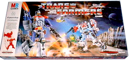 Transformers TV cartoon / Saturday Mornings 1988