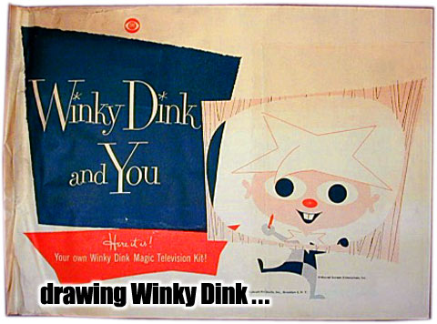 Winky Dink & You Artist