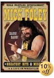 Mick Foley wrestles on DVD