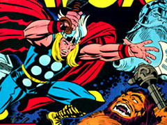 Thor comic book : Jack Kirby