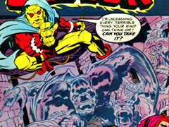 The Demon comic : Jack Kirby