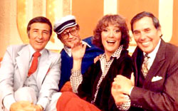 Brett and the cast of Match Game
