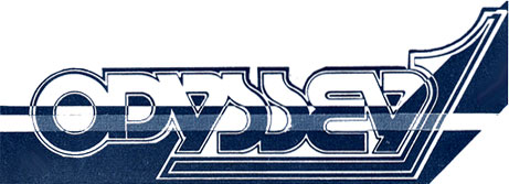 The Odyssey night club logo