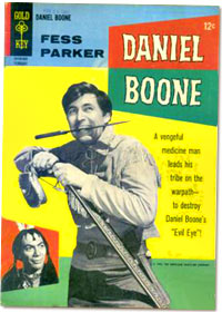 Daniel Boone comic book