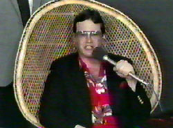 Jim Cornette backstage