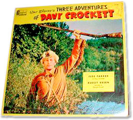 Fess Parker as Davy Crockett book