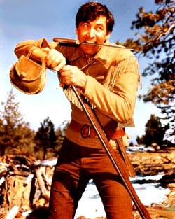 Fess Parker as Daniel Boone photo