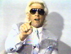 Ric Flair on TV