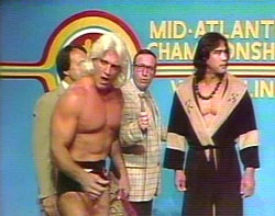 Ric Flair / classic TV wrestling