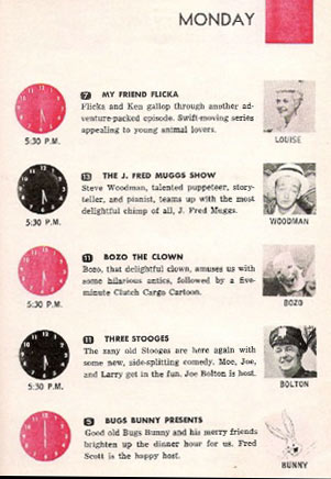 J. Fred Muggs Show card