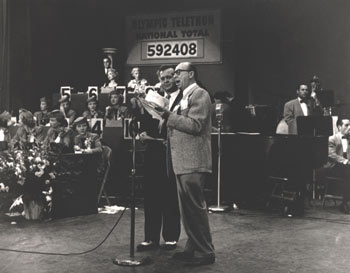 Johnny Grant Hollywood telethon