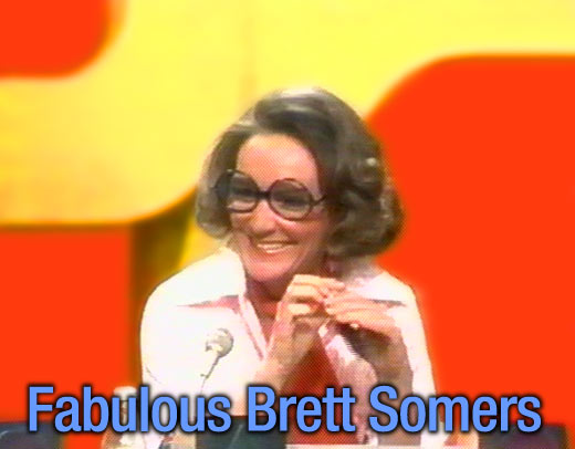 Brett Somers : Match Game