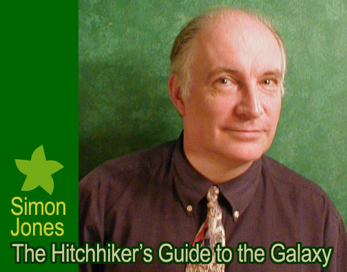 Simon Jones Interview : Hitchhiker's Guide to the Galaxy