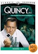 Quincy M.E. on DVD