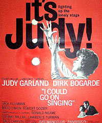 Judy Garland movie poster