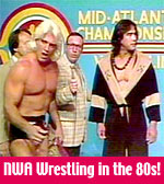 1980's TV wrestling on TV in the 1980s : NWA Wrestling
