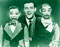 Paul Winchell & his puppets