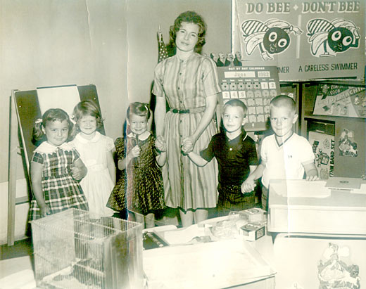Charlotte Romper Room photo 1962