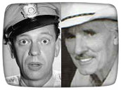 Don Knotts & Dennis Weaver