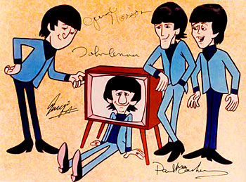 Beatles cartoon show