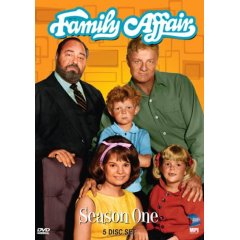 Family Affair Season One on DVD