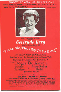 Gertrude Berg program