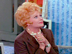 Lucille Ball starring in Here's Lucy