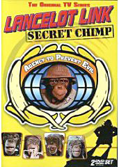 Lancelot Link Secret Chimp on DVD