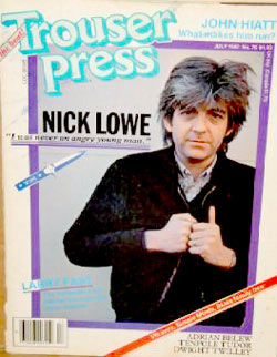 new wave /Trouser Press magazine on punk rock