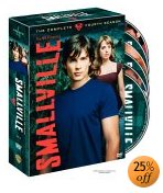 Smallville season 4 on DVD