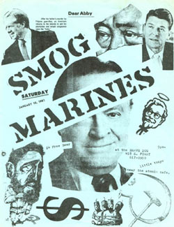 smog marines la punk Flyer
