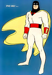Space Ghost cartoon