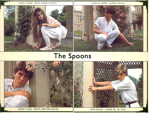 The Spoons : New Wave 1982