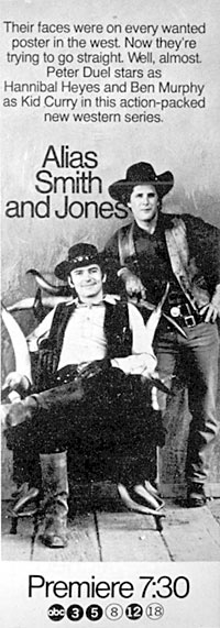 alias Smith and Jones-Obviously