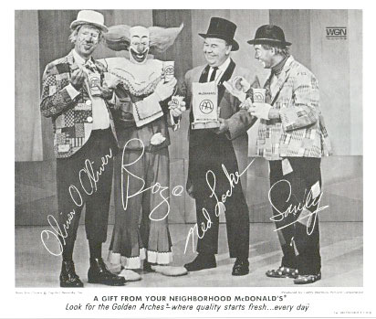 Cast of Chicago's Bozo Show