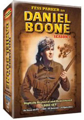 Daniel Boone Season 1 on DVD