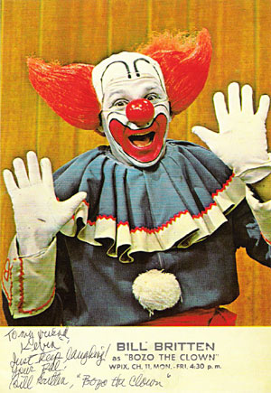 Classic TV clown - Bozo