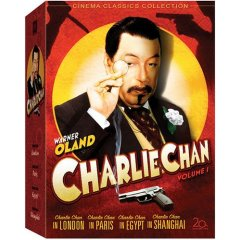 Charlie Chan on DVD