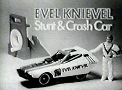 classic christmas toy ads / Evel Knievel doll