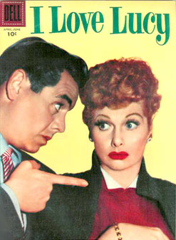 I Love Lucy comic book