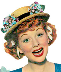 Lucy in I Love Lucy