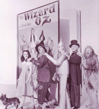 Wizard of Oz cast photo