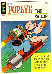Popeye comic books