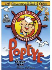 Popeye on DVD