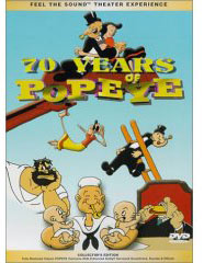 Popeye cartoonson DVD