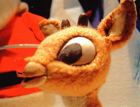 Rudolph The Red Nosed Reindeer puppet