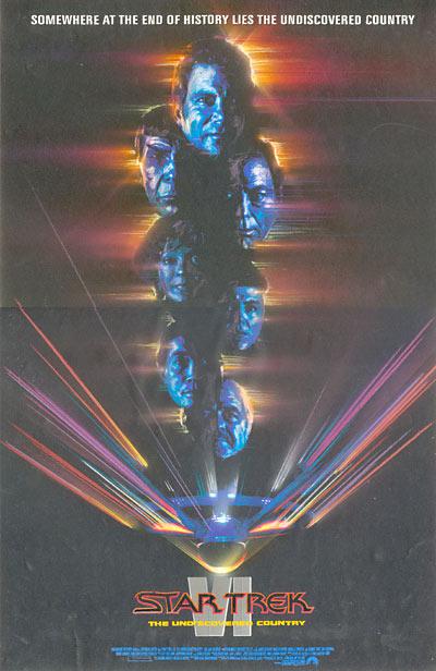 Trek Vi Movie Poster Art