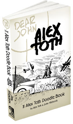 TV Blog - Dear John: The Alex Toth Doodle Book